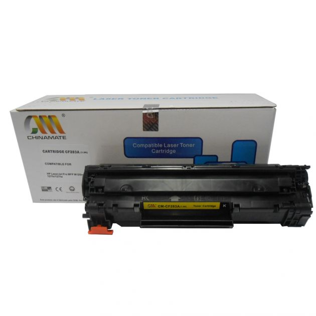 Toner  Compativel HP  CF283A Black - 1.5K